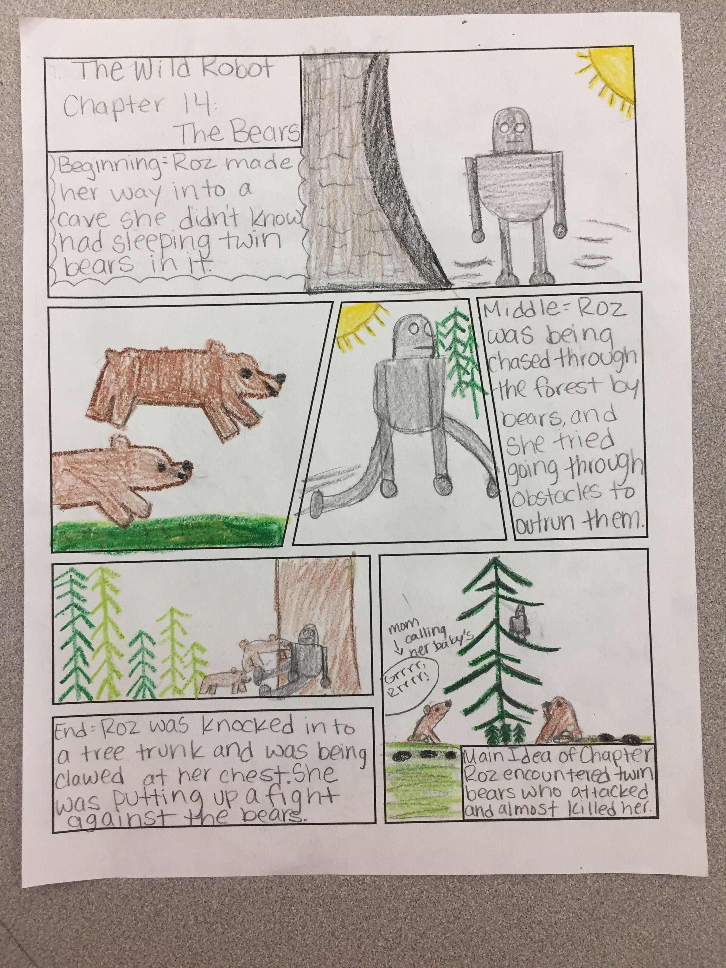 My students love reading graphic novels, and this organizer helped ...