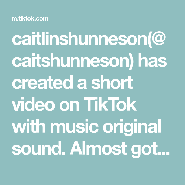 Caitlinshunneson Caitshunneson Has Created A Short Video On Tiktok With Music Original Sound Almost Got Bit By A S The Originals Bonnie Wright Me Me Me Song