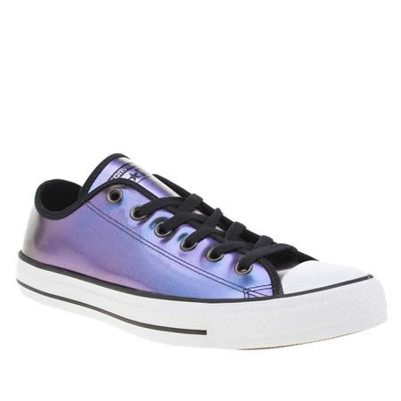 Converse All Star Ox Trainers Purple