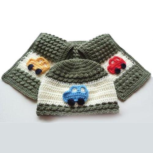 Childs Hat And Scarf Set Free Pattern Kids Pinterest Free