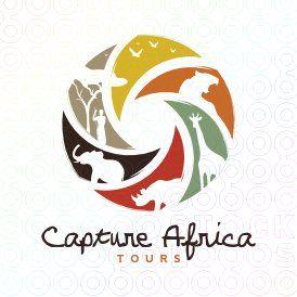Submission For Capture Africa Tours Contest Branding Design Logo Tourism Logo Zoo Logo