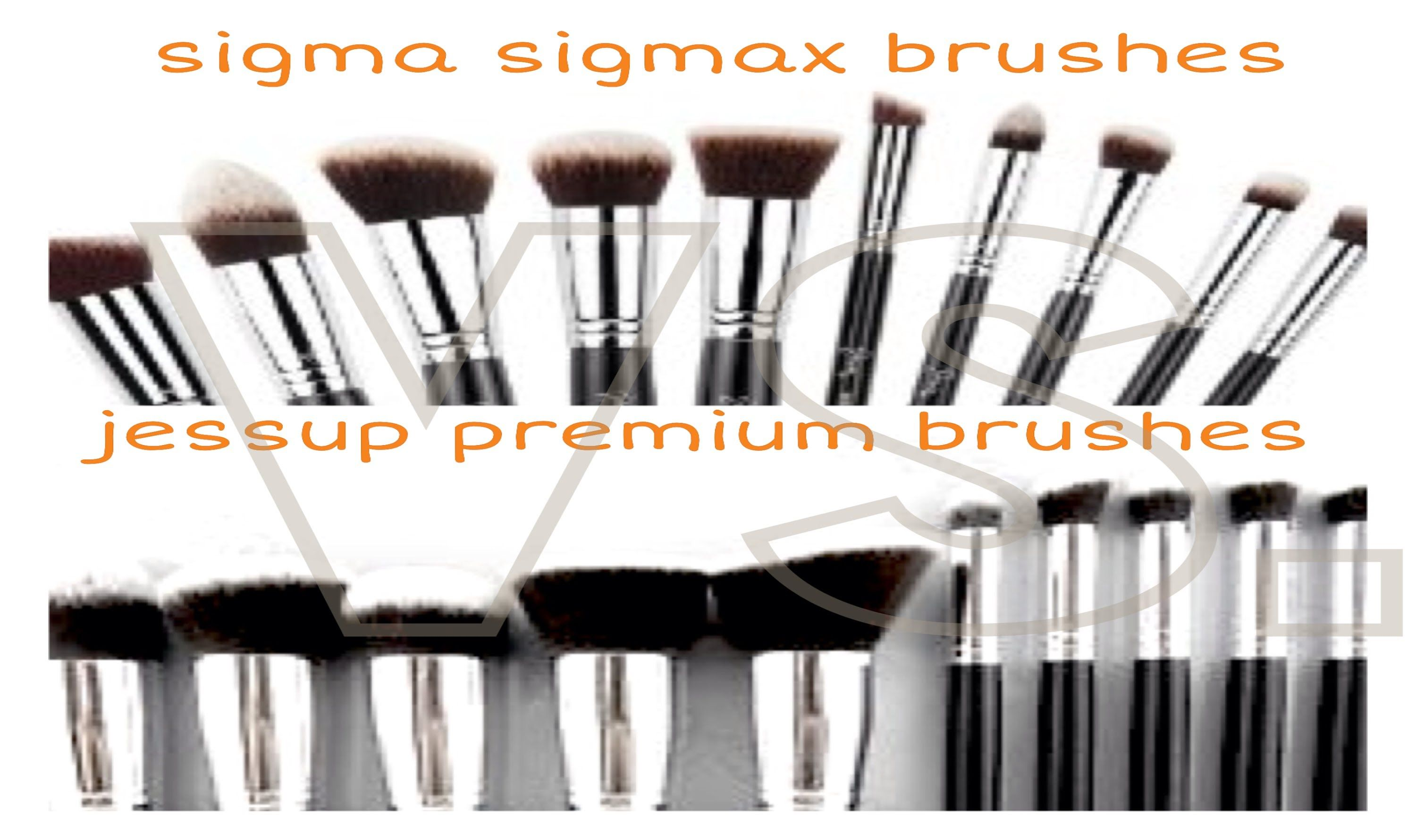 Sigma 'Sigmax' Brush Dupes?! | tiffybabxoxo