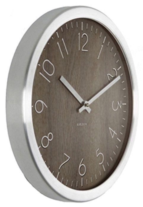 Karlsson KA5609DW Wanduhr in 2018 clock Clock, Black clocks