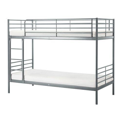 Svärta Bunk Bed Frame Silver Color Scarlett S Someday Room