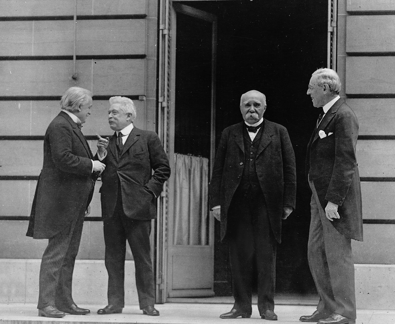 Picture Of The Big Four Together These Men Were Leaders