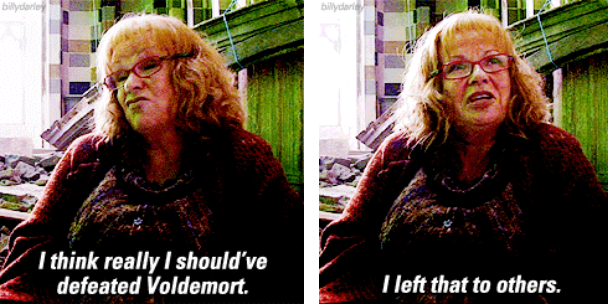 When She Knew How The Harry Potter Series Should Ve Actually Ended Julie Walters Harry Potter Series Harry Potter Love