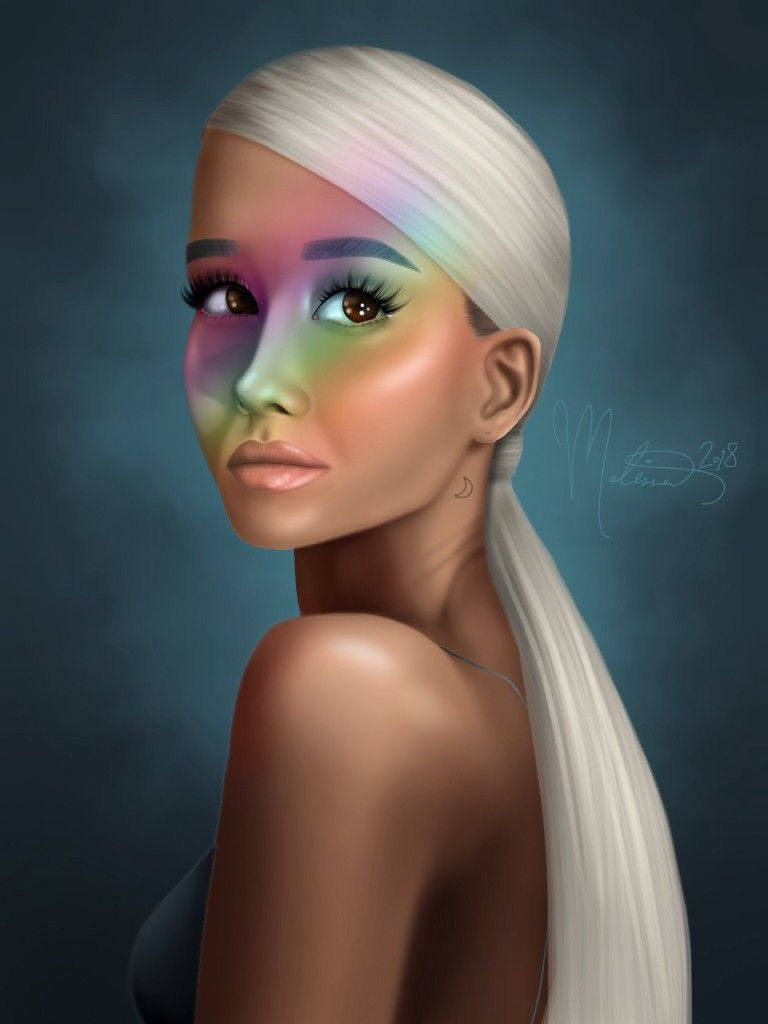 Pin On Ariana Grande Art