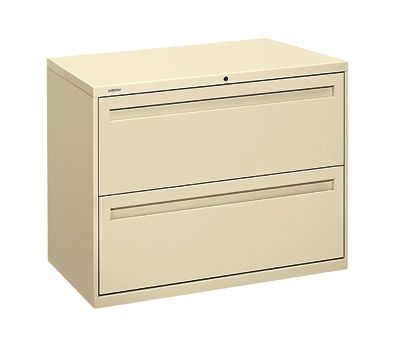 Hon 700 Series Full Featured Two Drawer Lateral Files 36 W X 28
