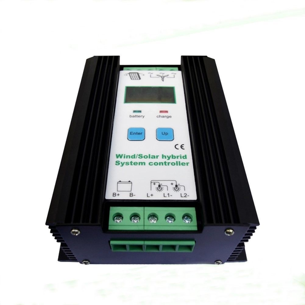 Jnge Power 1200w Wind Solar Hybrid Controller 50a 24v Auto Lcd Wind Turbine 600w All Proceeds Go To The Disabled Solar Wind Wind Generator Solar