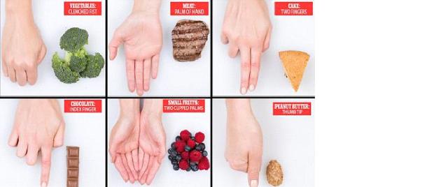 Prestaňte sa prejedať – Zistite dostatočné porcie s pomocou vašich dlaní | Domáca Medicína