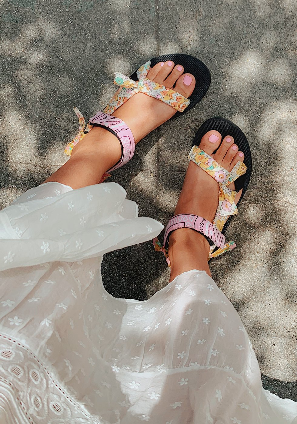 Diy Fabric Wrapped Teva Sandals Honestly Wtf Diy Sandals Teva Sandals Outfit Teva Sandals