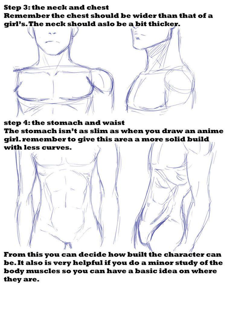 anime guy tutorial 2 by AaroKILLA on DeviantArt | DIBUJOS ...