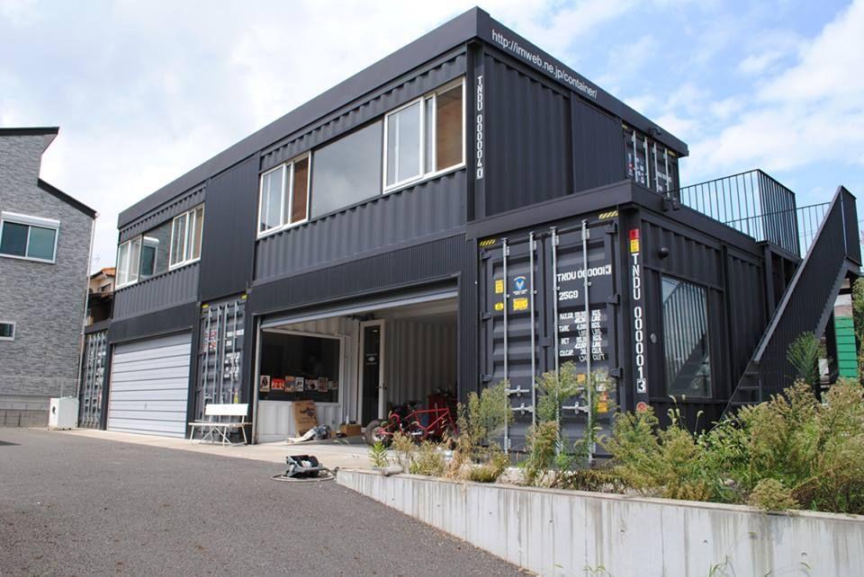 pinterest maison conteneur maison et conteneur. Black Bedroom Furniture Sets. Home Design Ideas