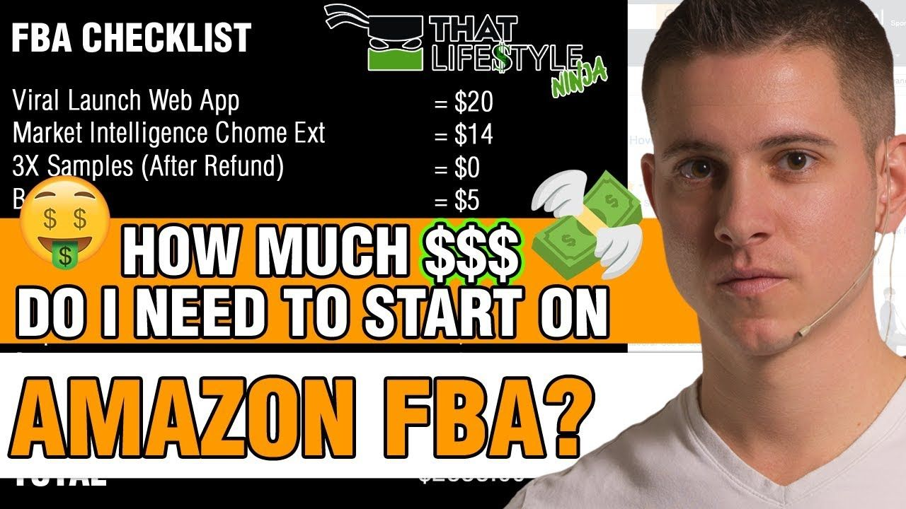 How Much Money do YOU Need to START on Amazon FBA (LESS