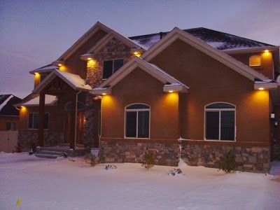 Exterior Recessed Lights Can Add Value As Well Security