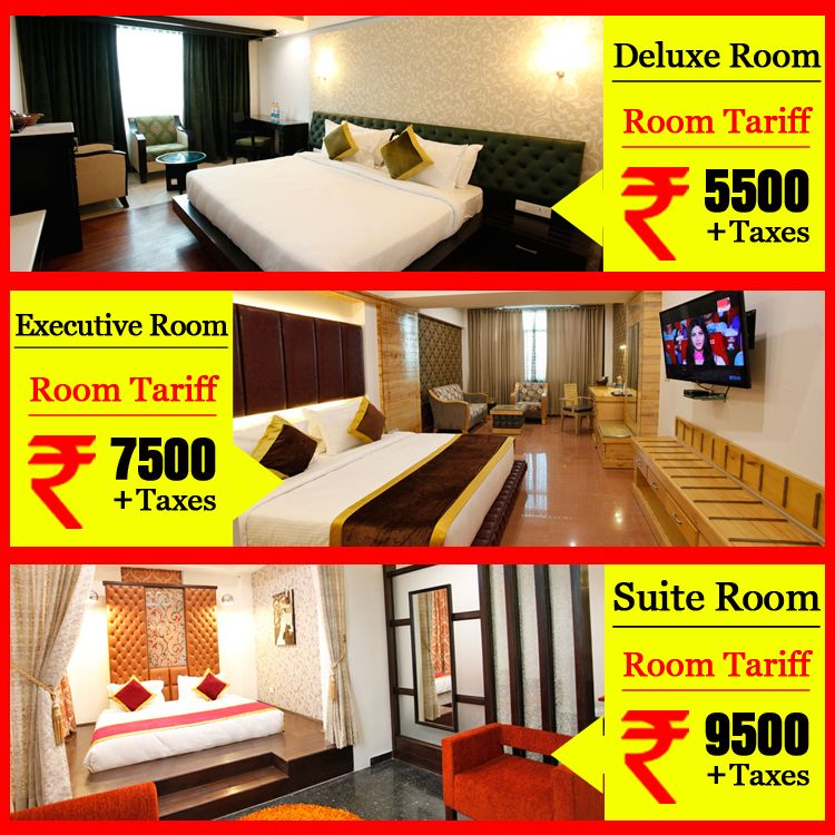 Have a look on our different #Room #Tariff