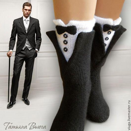 Носки шерстяные, вязаные носки, обувь для дома, домашняя ...