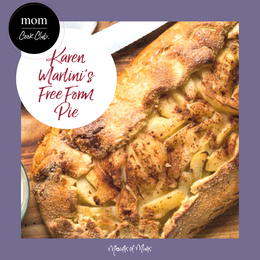 Ooooh thanks #karenmartini !! We're just a whole lot in love with your Free Form Pie.  This recipe is apple, pear and cinnamon. Perfect with a dollop of ice cream or a lick of cream. Check the Recipe now >>  . . #momcookclub #mouthsofmums #nomnom #easyrecipe #delish #homemade #closetohome #sogood #applepie #freeformpie #karenmartini