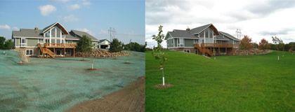 Insta Lawn Hydroseeding Backyard Lawn And Garden House Styles
