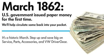 Start saving today with our #complimentary inspection valid until the end of April! #VW #savings