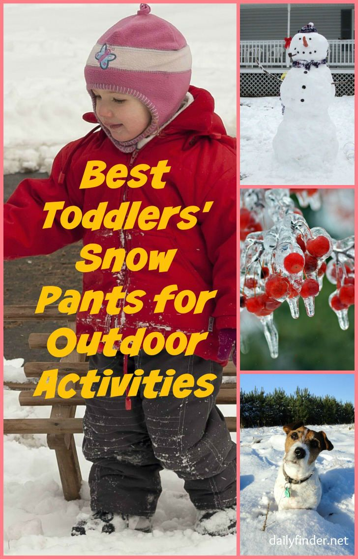 dbdaebd11 Best Snow Pants for Toddlers. Great for Outdoor Activities.