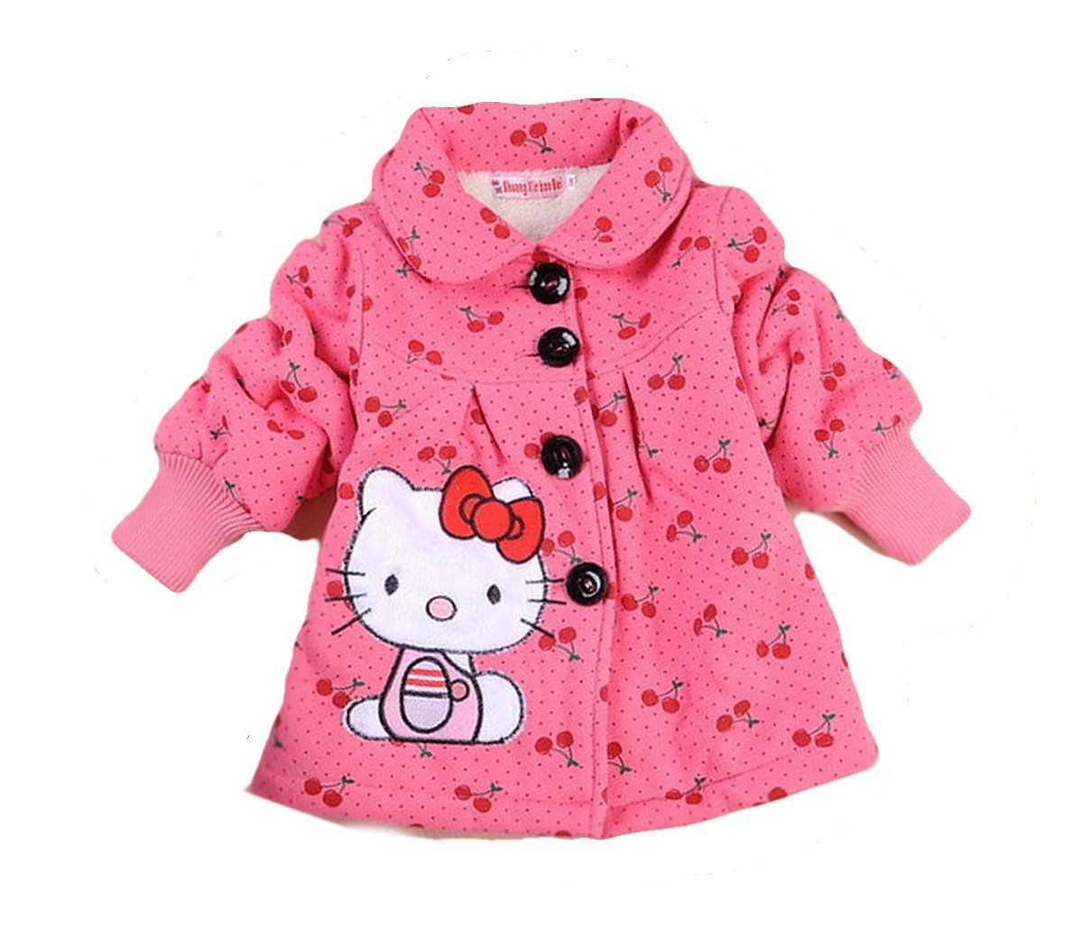 3dccfd8bf SOPO Hello Kitty Toddler Girls Winter Jacket 2-5Y Outerw Coat Pink ...
