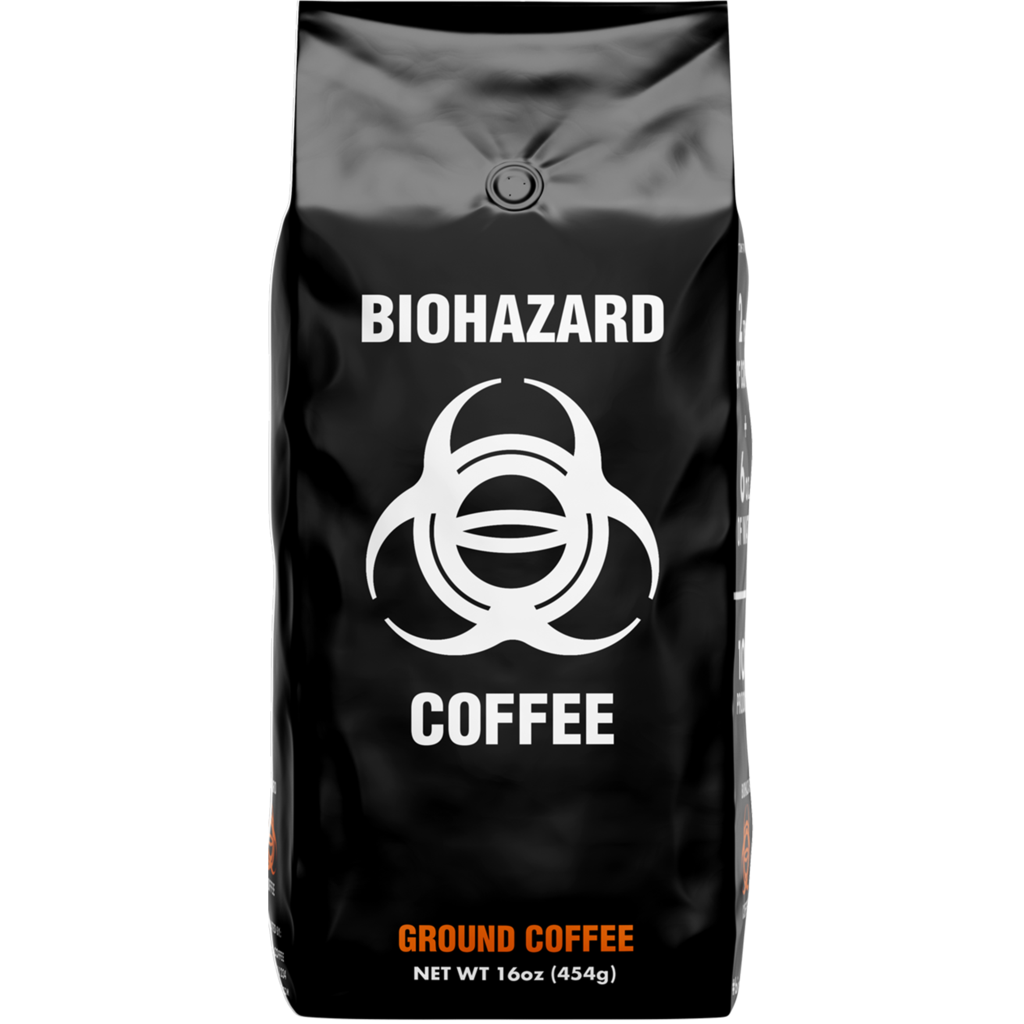 1lb Ground Strong Coffee Gourmet Coffee Coffee Grounds
