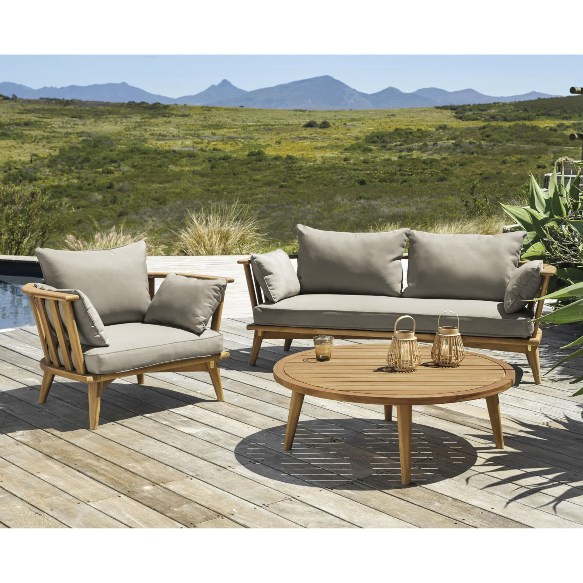 Outdoor Furniture Avec Images Salon De Jardin Bois Salon De