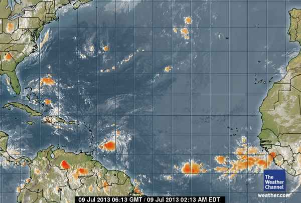 Atlantic Ocean Weather Map weather.  Map Room   Satellite Map, Weather Map, Doppler Radar