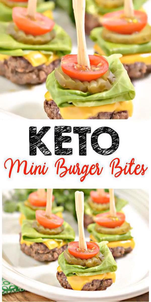 Photo of Keto Mini Burger Bites – EINFACHE Low Carb Keto Rinderhackfleisch Burger Bites Rezept – beste Abendessen – Mittagessen – Snack – Aperitif Idee