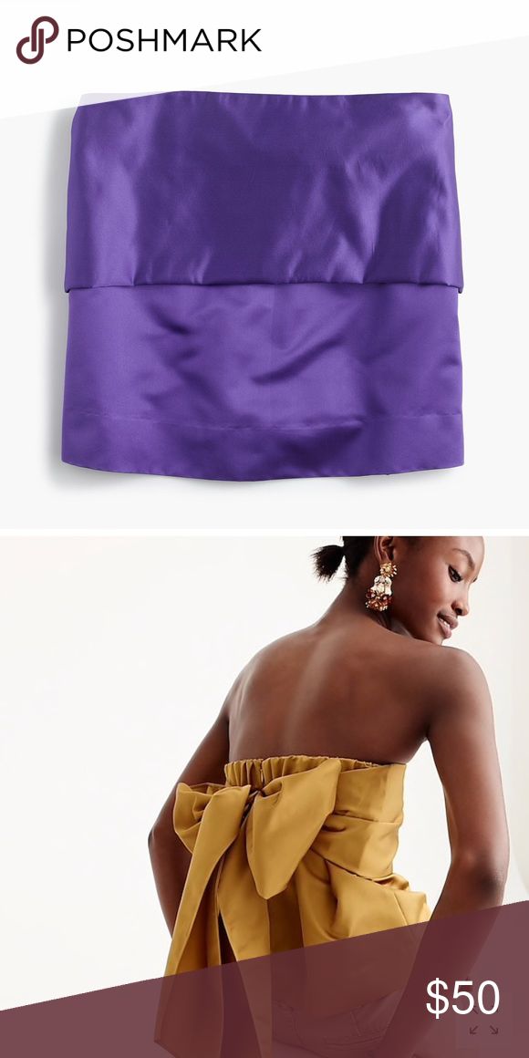 b8ef5c130d Chic royal purple strapless top! This top is amazing! Royal purple and has  an