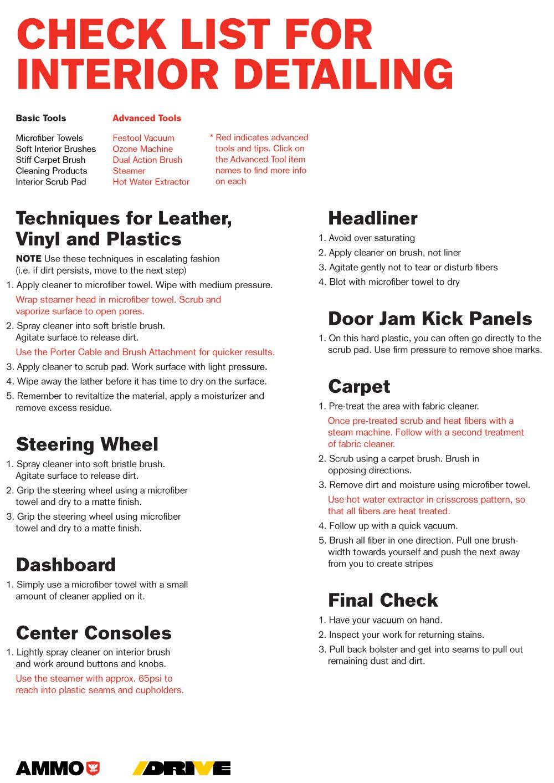 PDF AMMO NYC Car detailing, Mobile car wash, Car wash