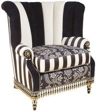 Jo would love this as it fits with her current theme and looks like an Alice in Wonderland chair.