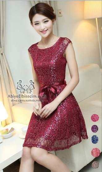 Bayan Elbise Isleme Dantel Elbise Elbiseler Elbise Modelleri
