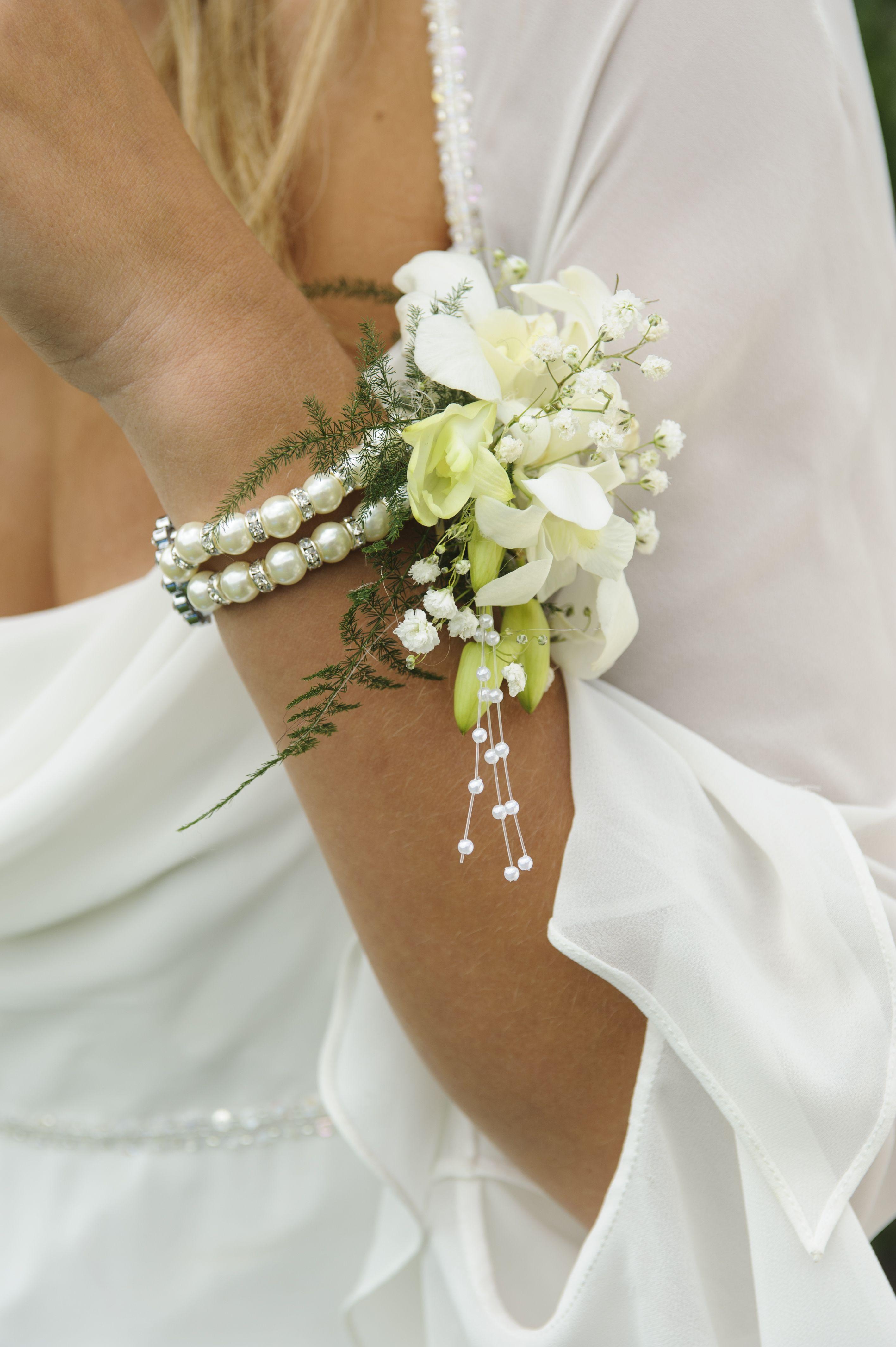 Sweetness Corsage Bracelet White And Black Pinterest Corsage
