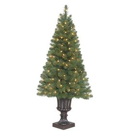holiday living 4 ft indooroutdoor arctic pine artificial christmas tree with clear