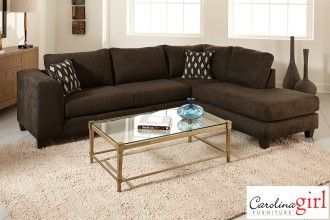 Felix Chocolate 2PC Sectional | Surplus Furniture And Mattress Warehouse  Store In Moncton New Brunswick