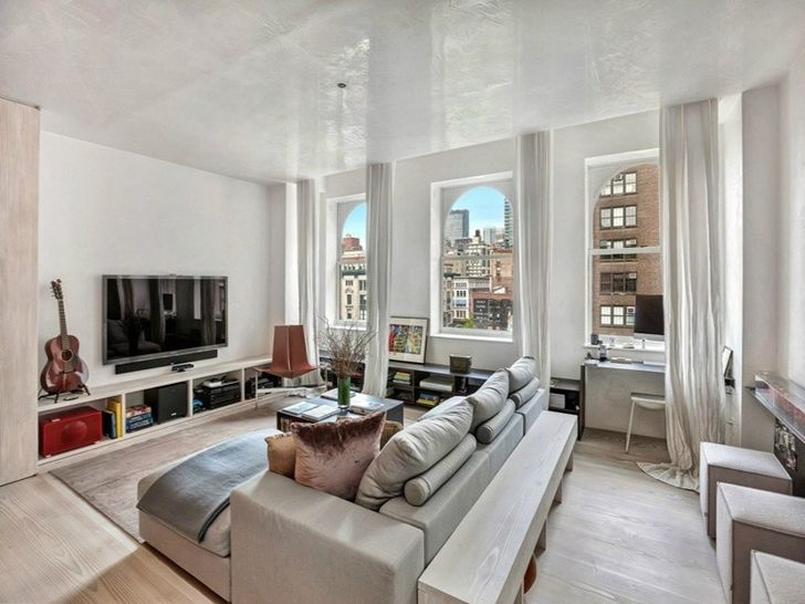 top new Apartment lobbies | Living room in small apartment in New York by Rick Joy & top new Apartment lobbies | Living room in small apartment in New ...