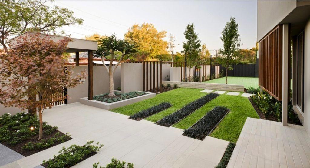 Luxury Modern Minimalist Garden Design And Ideas 1024x554
