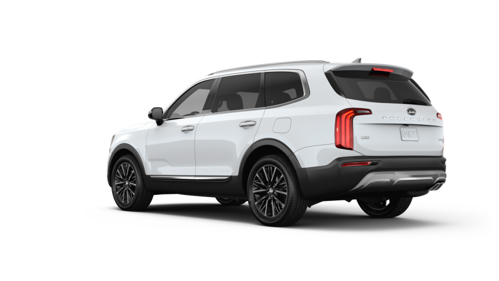 The Kia Telluride 2020 In Snow White Pearl Best Midsize Suv Best Compact Suv Luxury Suv
