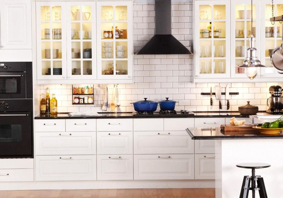 Furniture. Fabulous And Attractive Ikea Kitchen Cabinet Ideas. Chic ...