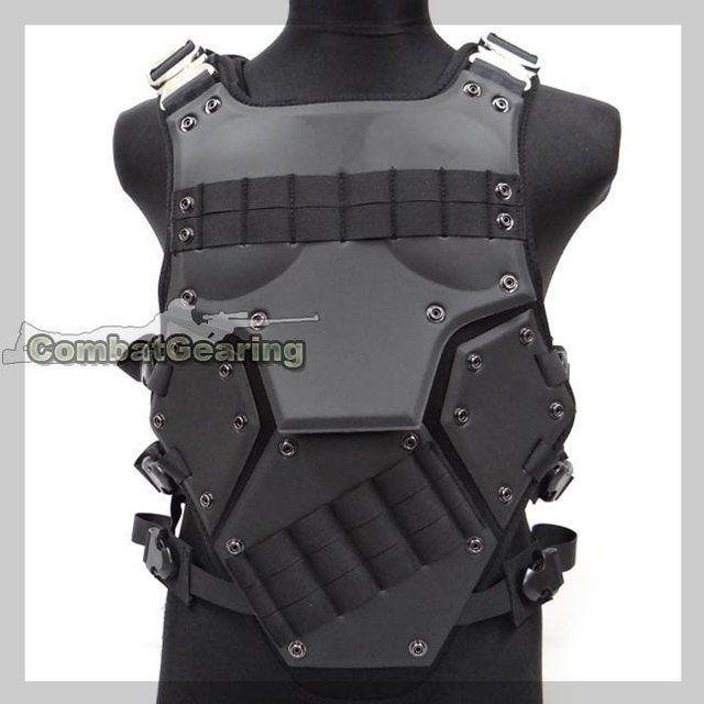 Molle Tactical Transformer 3 NEST Body Armor Vest Black ...