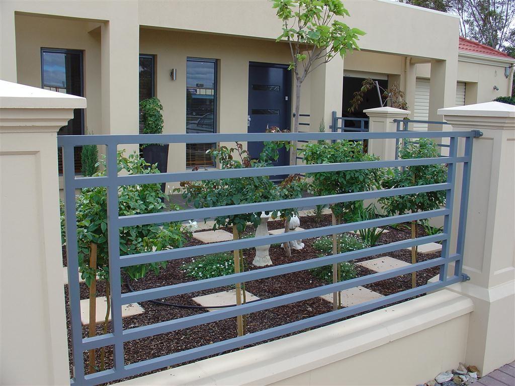 Tubular Fencing Modern Fence Design Balcony Grill Design Fence
