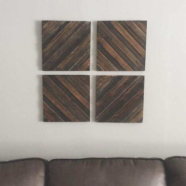 Wood Decorative Panels Set Of 4 Target Decorative Panels