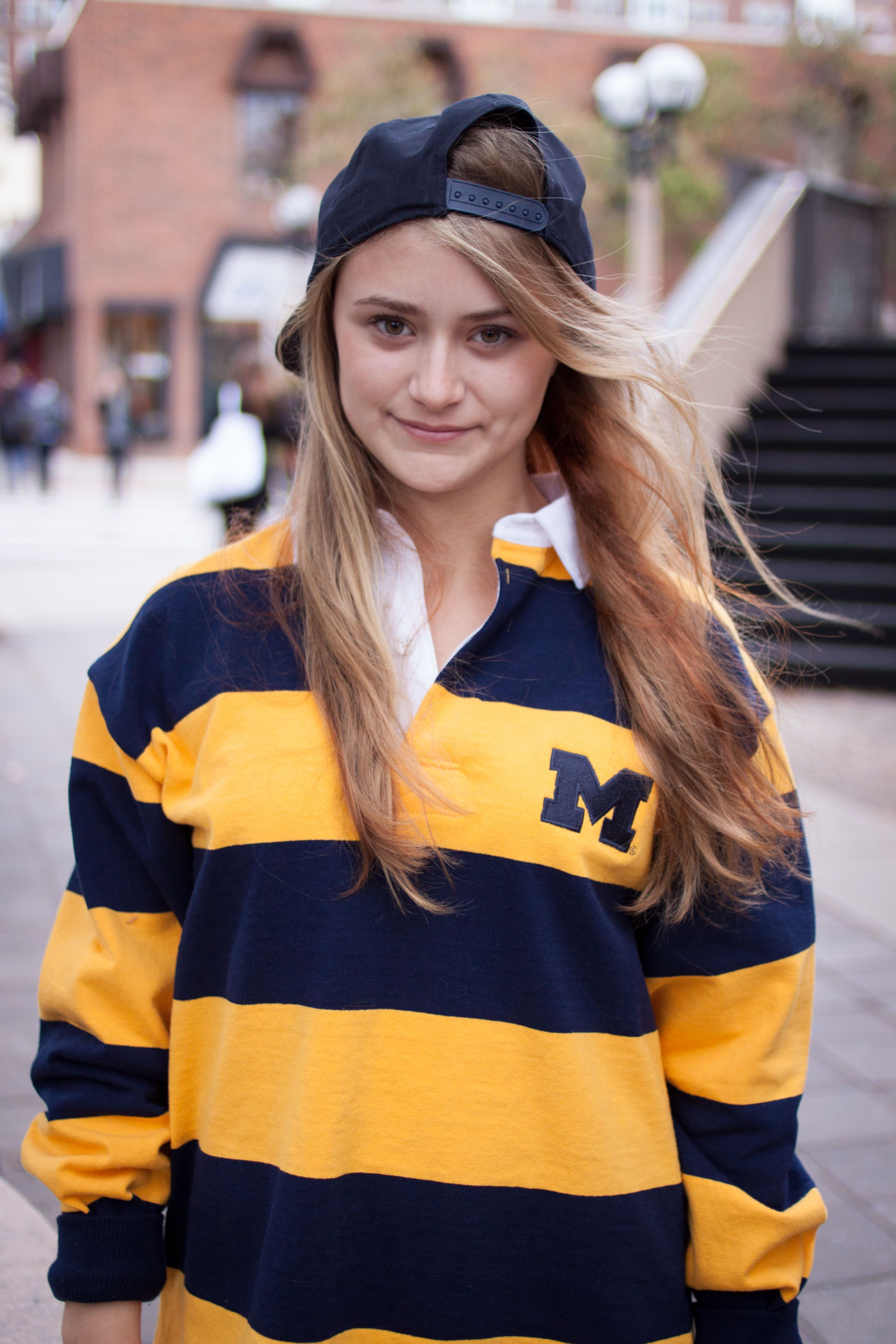 The Michigan Rugby is a great sweatshirt alternative keeping you