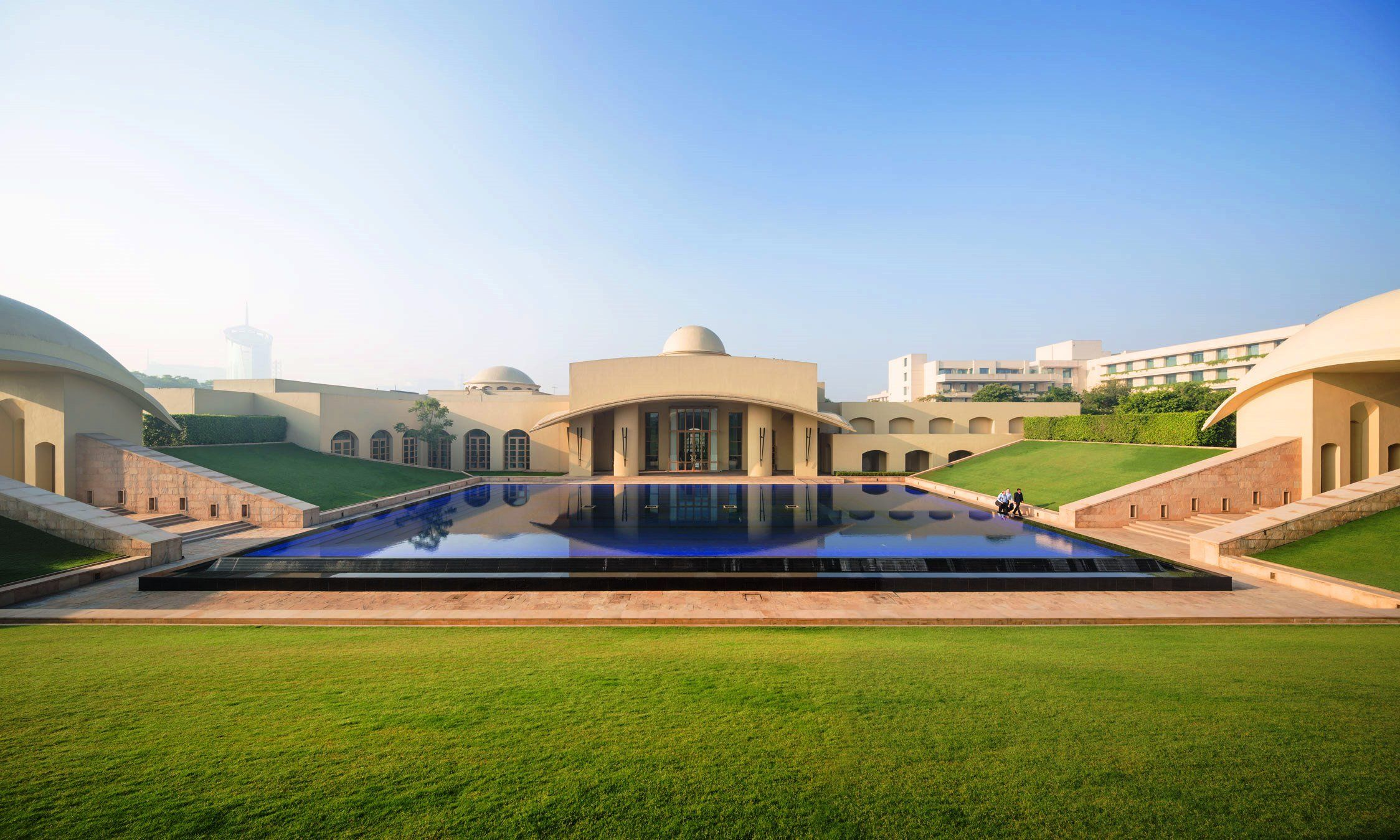 Trident, Gurgaon, Is Set Amongst 7 Acres Of Landscaped Gardens,