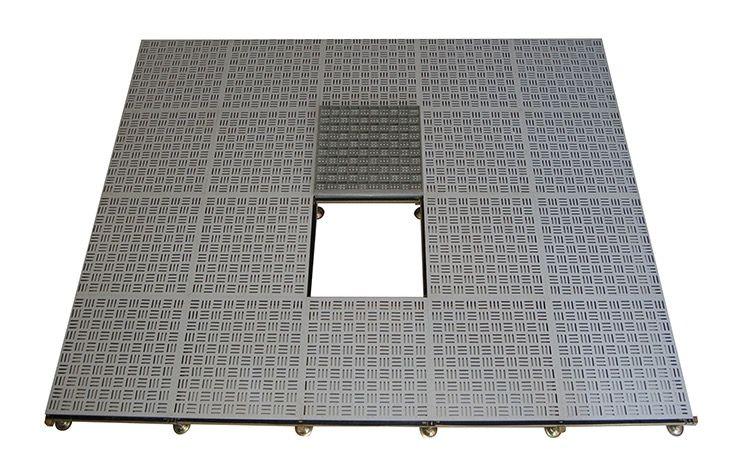 Aluminum Honeycomb Floor Ventilation Using High Pressure Die