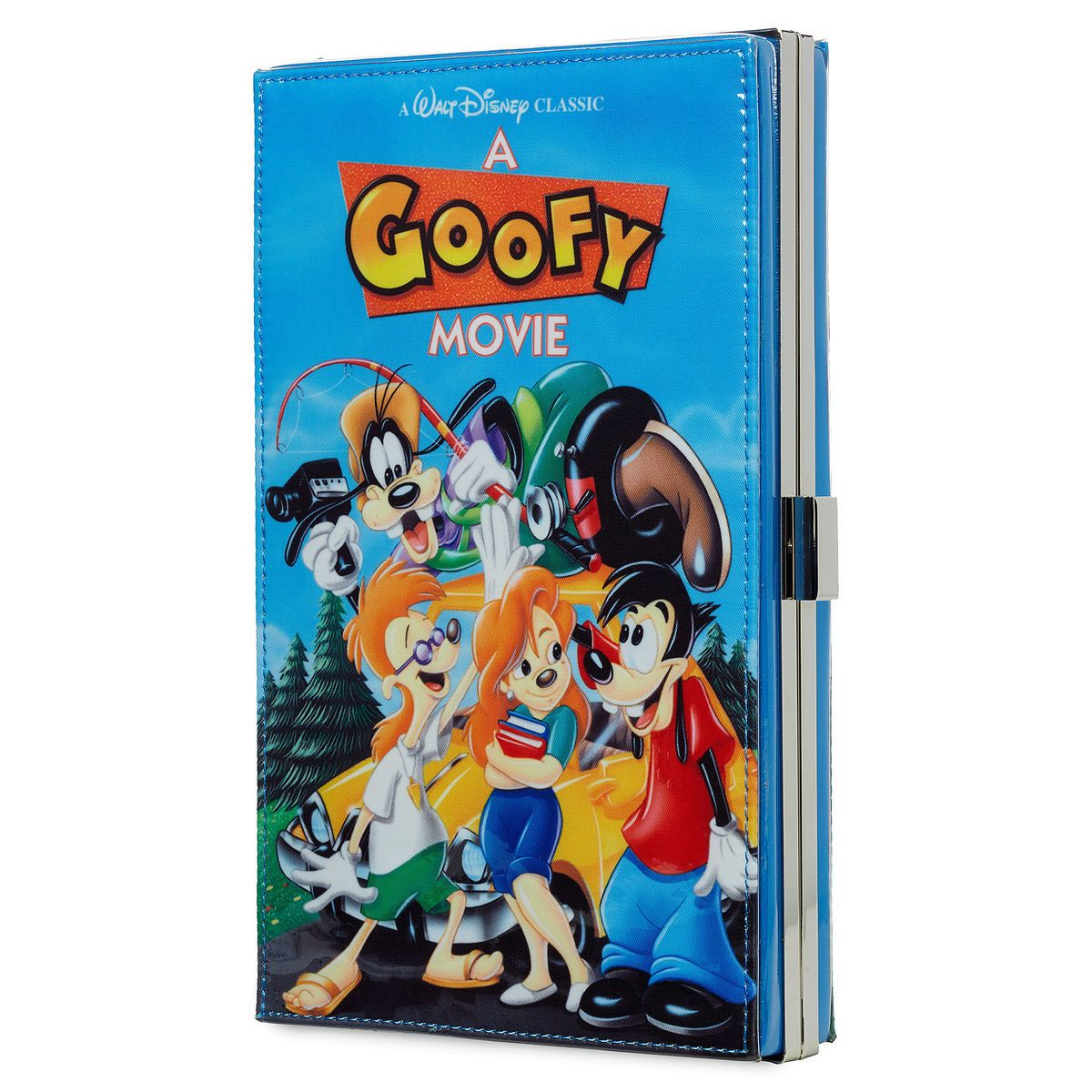 Product Image Of A Goofy Movie Vhs Case Clutch Bag