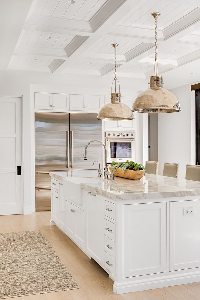 I chose this pin because it is very clean, modern, and open I want a big kitchen in my home.