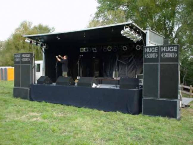 Indoor Outdoor Stage And Light Sound System For Various